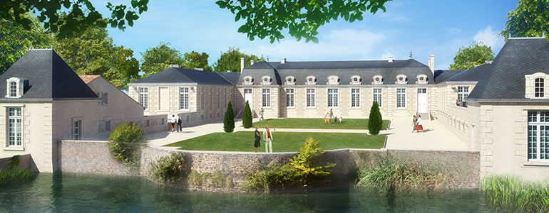 Programme Monument Historique - Le Palais à Poitiers - Jedefiscalise