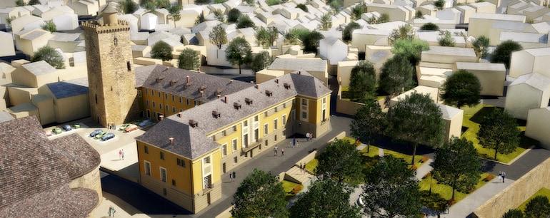 Monument Historique Palais Archiépiscopal Embrun - Jedefiscalise.com - 2
