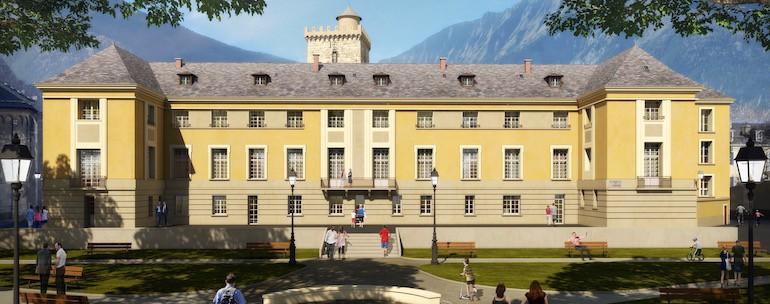 Monument Historique Palais Archiepiscopal Embrun - Jedefiscalise.com - 4