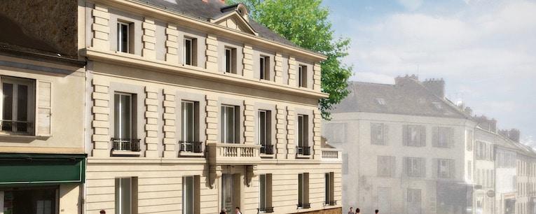 Pinel optimise au Deficit Foncier - Hotel de Cravoisier - Melun 6 - jedefiscalise.com