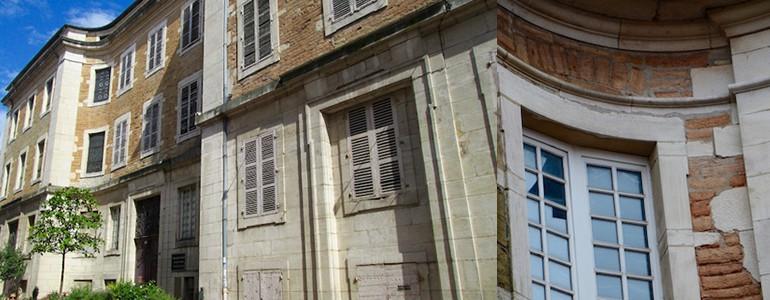 Monument Historique - Macon - Charité Soufflot - Jedefiscalise.com - 8