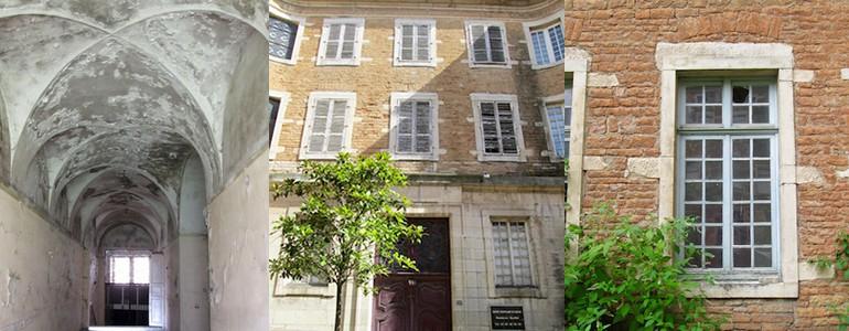 Monument Historique - Macon - Charité Soufflot - Jedefiscalise.com - 9