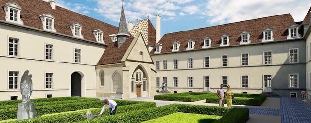 Nouveau programme de restauration Monument Historique, à Dijon