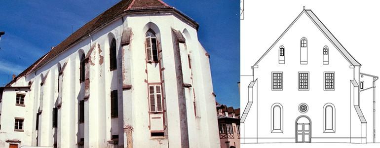 Monument Historique Selestat -Couvent Saint Quirin - Tranche 2 - a