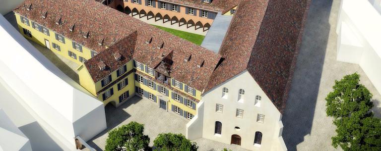 Monument Historique Selestat -Couvent Saint Quirin - Tranche 2 - c
