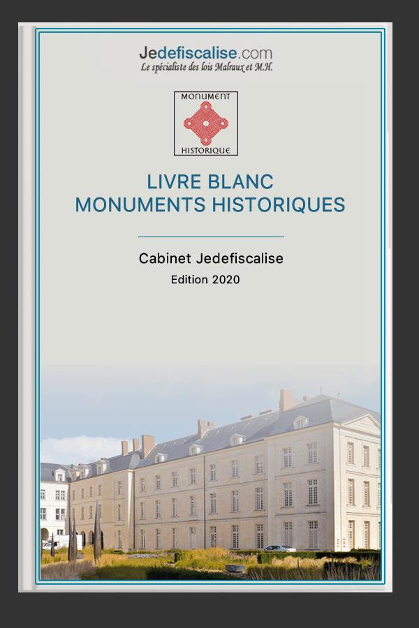Livre Blanc Jedefiscalise Monument Historique