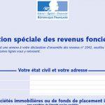 Déclaration de revenus fonciers, avec les particularités 2020